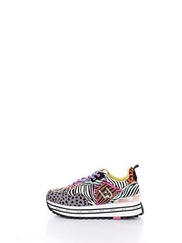 Liu Jo Shoes Damen LJWMX Sneaker, Mix Pony 2, 37 EU