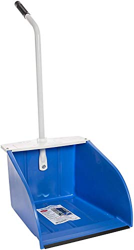 McLane Stand-Up Dust Pan, Indoor and Outdoor, Wide Mouth Dust Pan for Kitchen and Garage, (DP5)