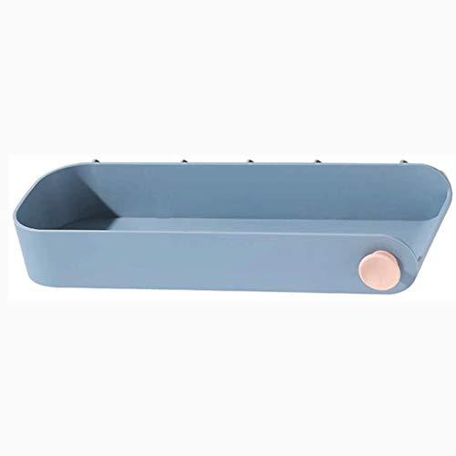 SCDZS Ducha Independiente Plataforma de Pelo del Estante del Estante del Estante de baño Secador de Pelo Colgador de Pared de Almacenamiento en Rack (Color : D)