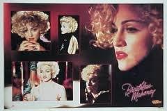 Dick Tracy 1990 Madonna BREATHLESS MAHONEY Walt Disney Poster Mint Sealed (Full Size 22' x 34 1/2') 1990