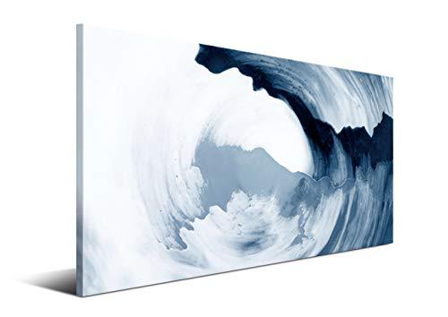 DON LETRA Cuadro Moderno Nórdico en Lienzo de 120 x 60 x 2 cm, Arte Abstracto, Cuadro para Decoración de Salón y Dormitorio, LZ-008
