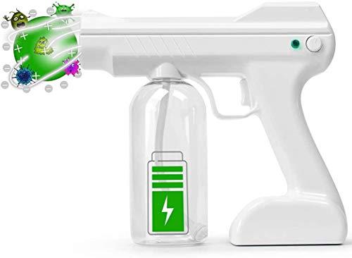 Disinfectant Mist Gun Fogger Rechargeable Handheld Nano Atomizer Sanitizer Spray Machine 27oz Tank ULV Electric Sprayer Nozzle Fogger For Office, Clinic, Garden Home Hotel Travel etc.