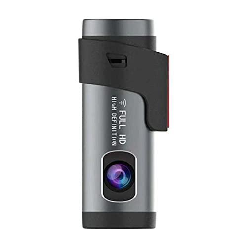 Rvtkak Cámara de coche WiFi cámara de coche inalámbrico que conduce la cámara del coche con visión nocturna