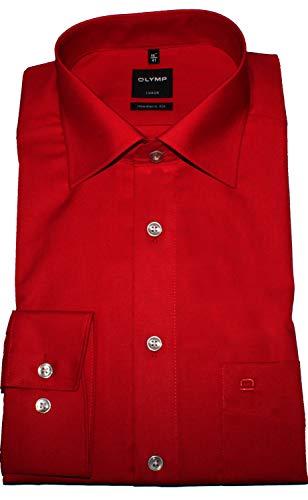 Olymp Luxor Hemd Modern Fit - rot, Kragenweite:40