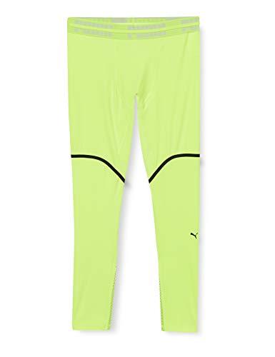 PUMA First Mile Extreme EXO-Adapt Long Tight, Leggings Uomo, Giallo Fizzy, XL