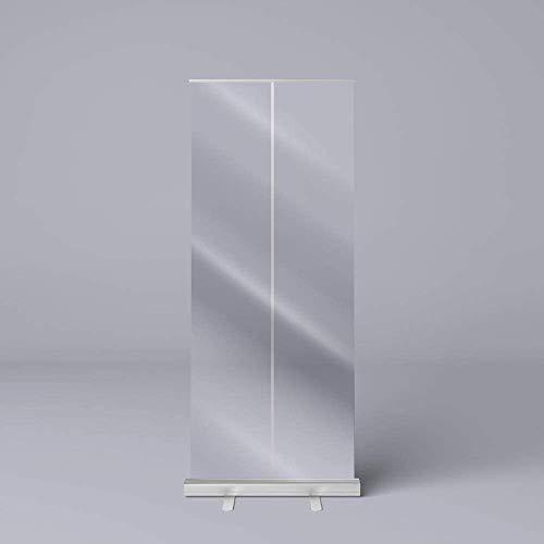 LHDQ Trasparente Roll Up Banner, Protezione Spit, Separè, da Pavimento igienica Protettiva, Sociale di distanziamento Shield 80 * 200cm