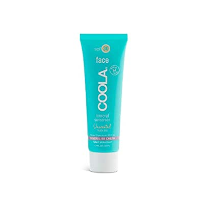COOLA Mineral Matte Tinted Sunscreen & Sunblock, Skin Care for Daily Protection, Broad Spectrum SPF 30, Fragrance Free, 1.7 Fl Oz