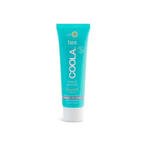 COOLA Mineral Face Matte Tint Sunscreen, SPF 30, Reef-Safe, Unscented 1.7 Fl Oz