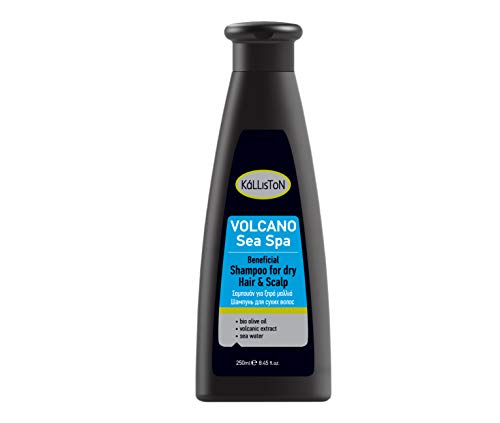 Kalliston Sea Spa Volcan Shampoing pour Cheveux/Crâne Secs