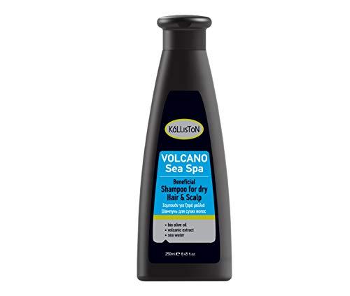 Kalliston Sea Spa Volcan Shampoo voor droog haar/schedel