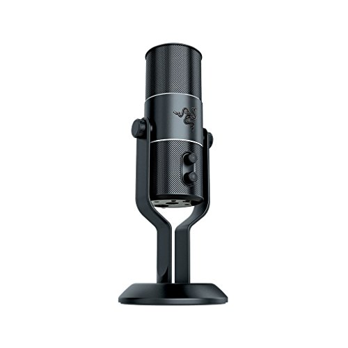 Razer Seiren Pro - Elite XLR and USB Digital Microphone -...