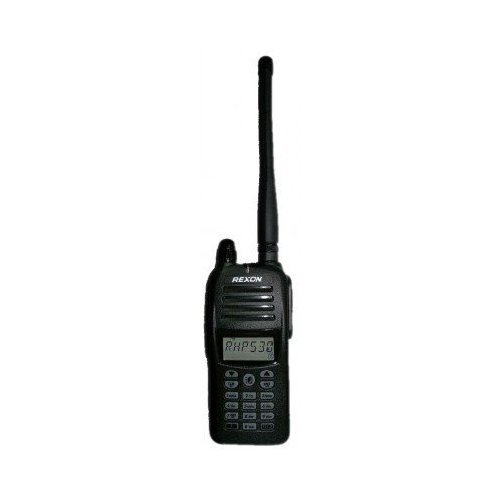 Rexon Air Band Handheld Radio/Transceiver RHP-530 with VOR and 1700mAh Li-Polymer Battery