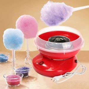 VAKHAR Plastic Sweet Electric Sugar Cotton Candy Maker Marshmallow Making Machine for Kids, Special for Snacks (Multicolour)