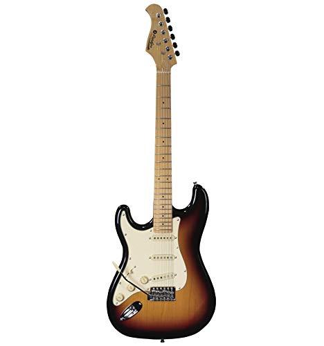 Prodipe ST80LHMA Sunburst - Guitarra eléctrica zurdo