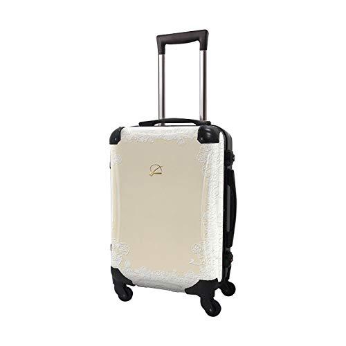 [キャラート] スーツケース レディース フレーム 4輪 31L TSAロック プロフィトロール スウィート 機内持ち込み可 保証付 55 cm 3.2kg ブランチアイボリー