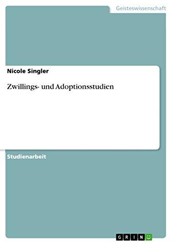 Zwillings- und Adoptionsstudien
