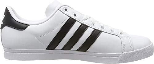 adidas Herren Coast Star Sneaker, Weiß (Footwear White/Core Black/Footwear White 0), 44 EU