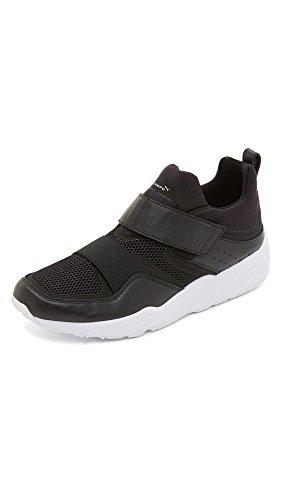 PUMA Select Men's Blaze of Glory Strap x Stampd Sneakers, Black, 9.5 D(M) US