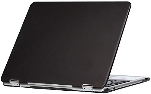 """mCover Hard Shell Case for 2018 12.2"""" Samsung ChromeBook Plus XE521QAB series (NOT Compatible with older XE513C24 / XE510C24 / XE303C12 / XE500C12 / XE503C12 models) laptop - BLACK"""