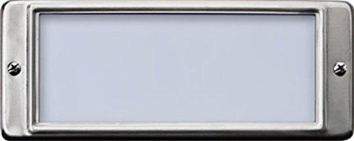 Dabmar LV602-SS304 Open Face (304) Step Light, 2-20W 12V, Stainless Steel Finish