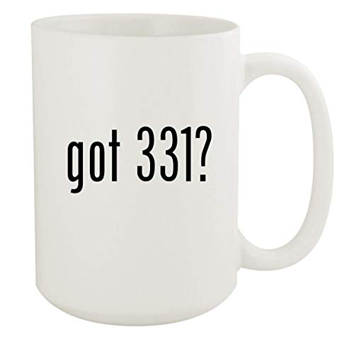 got 331? - 15oz White Ceramic Coffee Mug