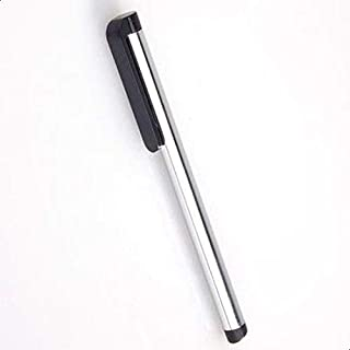 Stylus Touch Pen with Boll Pen Point for Smartphones and Tablet - SILVER