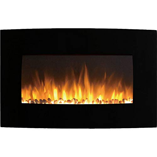 Regal Flame Broadway 35-inch Pebble Ventless Heater Electric Wall Mounted Fireplace Better Than Wood Fireplaces, Gas Logs, Fireplace Inserts, Log Sets, Gas Fireplaces, Space Heaters, Propane electric Fireplace inserts