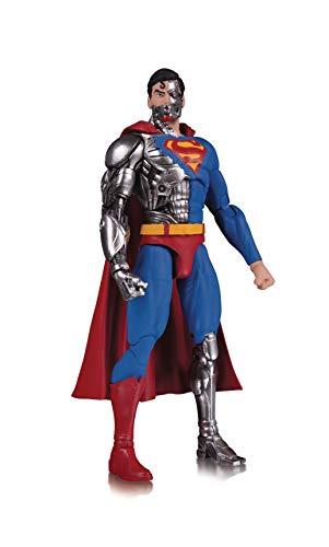 Personajes DC con atractivo universal, accesibles tanto para coleccionistas de larga duración. La figura está en escala 1: 10. Detalles auténticos. Cyborg Superman tiene 6. 218,8 cm de alto. Edición limitada.