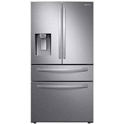 Price comparison product image Samsung RF22R7351SR 22.4 Cu. Ft. Stainless French Door Counter Depth Refrigerator