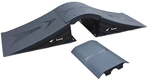 XXL MEGA Rampenset 2 Decks 228x70x40cm (L/B/H) Skateboard/BMX/Skater/RC Cars