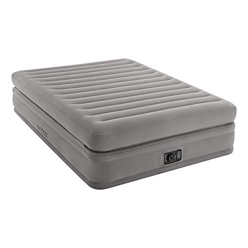 INTEX 64446 - Colchón hinchable Dura-Beam Deluxe Prime Confort 152x203x51 cm