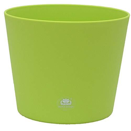 Kunststoff Blumentopf Flori 28 apfelgrün Ø 28cm H 24,5cm