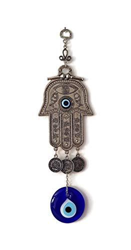 Mystic Jewels Hamsa de la main de Fatima avec motif maison de bénédiction pour énergie chance et succès