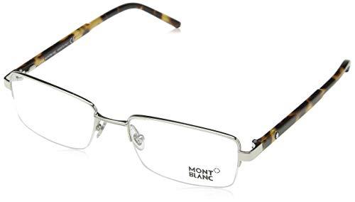 Montblanc Brillengestelle MB581-A16-55 Rechteckig Brillengestelle 55, Silber