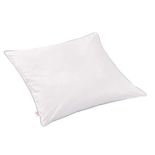 Matratzen Concord Premiumqualität Kopfkissen Select aus Polyesterfasern mit Baumwollbezug öko tex, waschbar, 80 x 80 cm