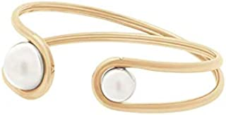 Michael Kors Women's Gold-Tone Stainless Steel Bangle Bracelet - MKJ6299710