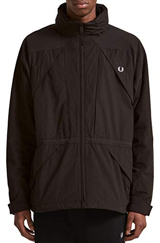 Fred Perry Offshore Zip-Through Jacket Black-L