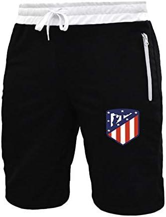 ZFDM Pantalones cortos deportivos para hombre, transpirables ...