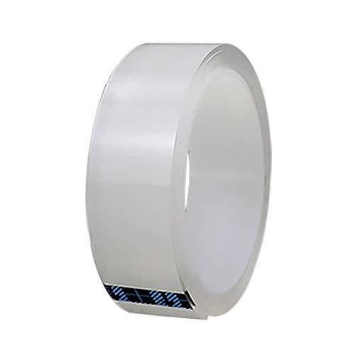 on brand Waschbare Transparent Nano-Tape Multiwiederverwendbare anhaftender Streifen waschbar Abnehmbarer Traceless deutlich zweiseitiges Klebeband