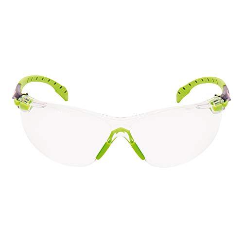 3M S1201SGAF-EU - Gafas de seguridad de montura universal, color verde y negro