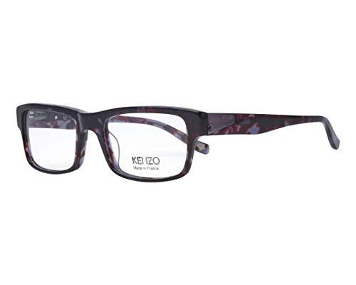 Kenzo Brille (KZ-4181 01) Acetate Kunststoff dunkel braun - marmor stil braun