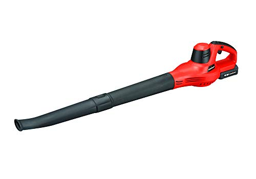 PowerSmart PS76101A 20V Lithium-Ion Cordless Blower, 1.5 Ah Battery and Charger Included