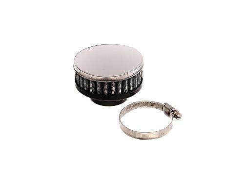 Replika Filtre à air sport – Chrome plat (28-35 mm)