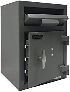 SOUTHEASTERN Cash Drop Depository Safe for money with dual control key lock