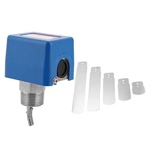 Interruptor de control de flujo de agua - HFS-25 1'/dn25 Interruptor de control de paleta de flujo de agua líquida Contactos SPDT 6-380V (acero inoxidable)