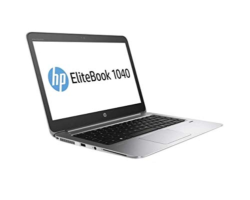 HP EliteBook 1040 G3 14' 2K QHD Touchscreen (2560x1440) Business Laptop (Intel Core i5-6300U, 8GB DDR4 RAM, 512GB PCIe M.2 SSD) HDMI, WiFi AC, Bluetooth, Type-C, Windows 10 Pro (Renewed)