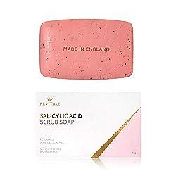 Jabón exfoliante con ácido salicílico