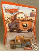 Disney Pixar Cars Mater the Tow Truck Series One 1st Series Mattel by Disney