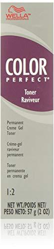 Wella Color Perfect Permanent Creme Gel Toner T9b Pale Beige Blonde for Women, 2 Ounce