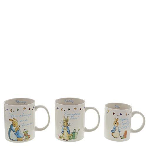 Beatrix Potter A29833 - Set di tazze, Bone China